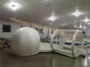 China clear bubble camping  tent for sale inflatable transparent bubble tent with room transparent tent on sale