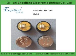 China Otis elevator buttons model BR36 of elevator parts and components of best price made in China on sale