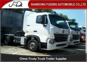China 336 HP Mini Tractor Head Trucks With Tubeless Tire 4 × 2 Drive Wheel on sale