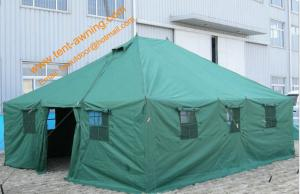 China 20 Person Tent Military Waterproof  Tents Pole-style Galvanized Steel  Army Camping Tents on sale