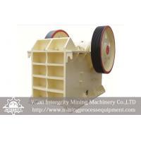 China Iron Ore Beneficiation Plant Equipment , Iron Ore Jaw Crusher on sale