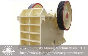 China Iron Ore Beneficiation Plant Equipment , Iron Ore Jaw Crusher on sale