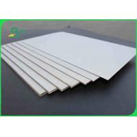 1.5mm Advertising Double Sided Grey Board Paper / Chipboard For Storage Box
