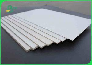 China 1.5mm Advertising Double Sided Grey Board Paper / Chipboard For Storage Box on sale