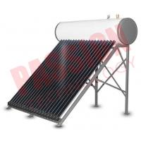 Integrative Closed Circulation Small Solar Water Heater For Home , White Outer Tank