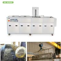 28khz Engine Block Ultrasonic Engine Cleaner Heavy Duty Oil Removing With Filtration