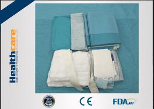 China EO Sterile Medical Procedure Packs TUR Drape Pack With ISO13485 Certificate on sale