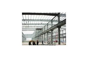 China Q235 / Q345 H Type Steel Structure Pre-engineered Building With Hot Dip Galvanizing on sale