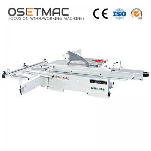 China Digital Readout 1.1kw Woodworking Sliding Table Saw on sale