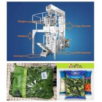 China Salad Vegetables Automatic Food Packing Machine Multiheads Weighing High Speed on sale