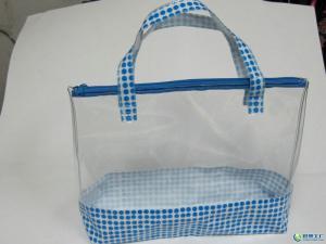 China Durable Biodegradable Plastic Bags , transparent PP Side Gusset Bag on sale