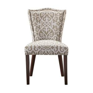 China Cushion Painted Dining Chairs Rubber WoodWith More Fabric Options on sale