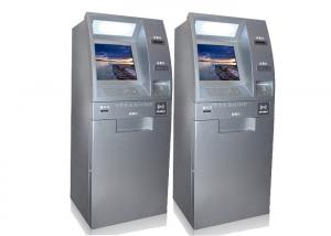 China Outdoor Freestanding Self Service Payment Kiosk Terminal IP65 Digital Signage Kiosk on sale