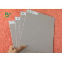 China Strong Stiffness Book Binding Board 1.9mm 3.0mm Thickness Double Grey Paper For Folders on sale