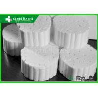 Absorbent Cotton Roll / Soft Dental Cotton Roll With Non Sterile And Sterile Packing