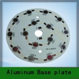 China Good mechanical Round LED Aluminum PCB 0.5 ~ 10oz Copper printed circuit board on sale