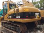 Used Caterpillar 320C Crawler Excavator 2066 ATAAC engine 21T weight  with Original Paint