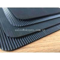 Mechanical Strength Outdoor Rubber Mat Flooring Cow Mat , 2-10Mpa Tensile Strength