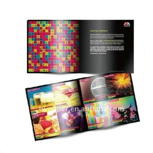 China A5 Square / Rectangle Glossy, matte lamination coating Booklet, Colour Brochure Printing on sale