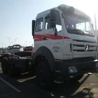 Military quality tractor head truck Beiben 2638 10 tyres truck head