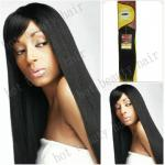 "32""Silky Straight Long Indian Virgin Hair Extensions Tangle Free"
