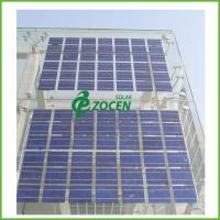 Roof Mounted Transparent PV Double Glass Solar Panel On - Grid Utility Solar Systems