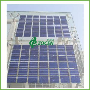 roof mounted transparent pv double glass solar panel on grid rh crystallinesolarpanels sell everychina com