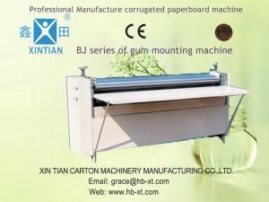 Corrugated Paper Carton Folding Machine , Sheet Pasting