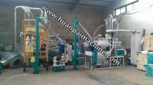 China 8-10TPD low flour mill plant / low price flour mill plant / corn flour mill plant on sale