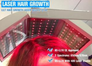 China 650nm / 670nm Wavelength Hair Laser Growth Machine Energy Adjustable CE ISO13485 on sale