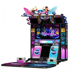 China Coin Operated Simulator Game Machine Dancing Music Game Machines Video Electronic Game Machine Indoor Amusement Park on sale