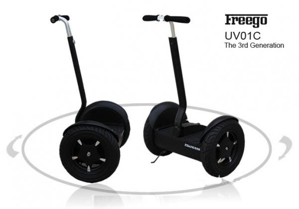 Uv01c 1600w Electric Personal Transporter Two Wheel Scooter With Adjule Handle No Pollution Images
