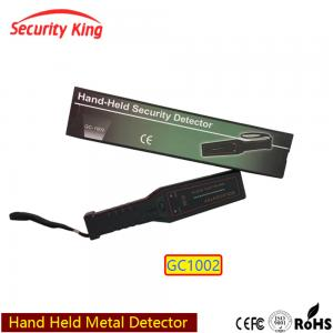 China Wand Hand Held Security Metal Detectors For Public Place , Light And Sound Alarm on sale