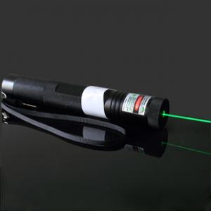 China Straight Adjustable 200mW High-power Green Laser Pointer on sale