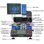 New released WDS-650 auto bga rework station with light infrared heating