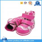 Fancy Pink Baby Comfort Sole Girls Shoes Import Baby Shoes China