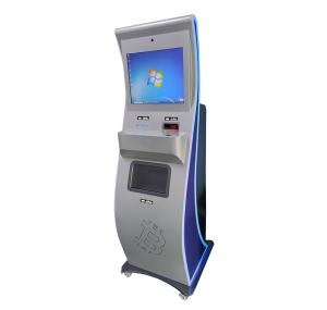 China Facial Recognition EMV 1920*1080 Self Check In Kiosk PCI on sale