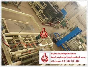 China 75mm Thick Wall Panel Fiber Cement Board Production Line for Structure Building Partition on sale