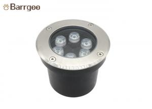 China Garden Path Underground Led Spotlight , Stainless Steel 6w Led Ground Lights on sale