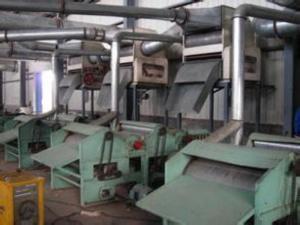 China Three cylinders auto feeding type cotton waste opening machine on sale