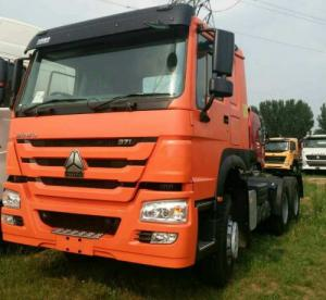 China 6x4 Prime Mover Truck  371hp And 336hp Left Hand Drive Tractor Head Trailer on sale