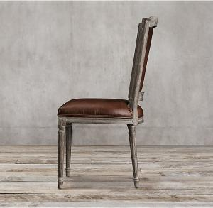 top grain dark brown leather dining chairs leather studded dining rh familyroomfurnitures sell everychina com