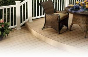 China WPC hollow decking on sale