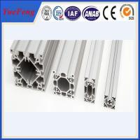 China Hot! aluminium profile according to drawings manufacturer in china on sale