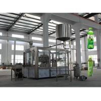 Automatic Aseptic Juice Beverage Filling Machine For Tea Hot Drink Plastic Bottle