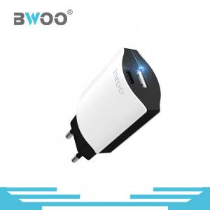 China BWOO New Launched USB Wall Charger Adapter with Safe and Fashinable Package, in US/EU Standard, Output 5V 2.4A/9V QC 2.0 on sale