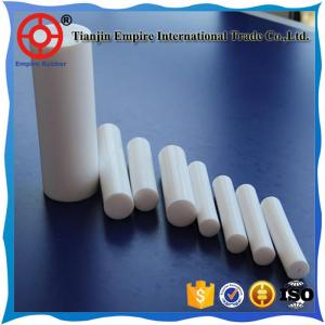 China ISO manufacturer clear single clear pure white PTFE sheets & pipes & bars on sale