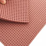 Washing liquor resistance perforated silicone foam pad for cloth ironing industry