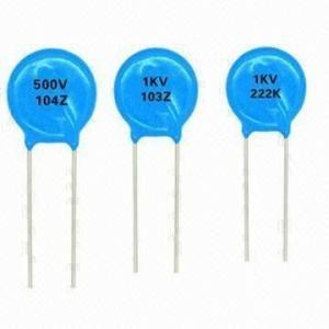 1000pF 1.6 kV céramique Les Condensateurs à haute tension K15-5 new old stock Quantité = 20