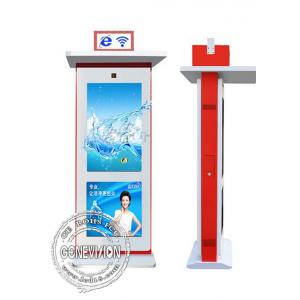 China 42 Inch Touch Screen Interactive Digital Signage Display , Lcd Advertising Player High Resolution on sale
